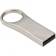 USB-Stick aus Metall mit 8 GB Speicherkapazität - grau