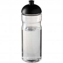H2O Base® 650 ml Sportflasche mit Stülpdeckel - transparent/schwarz