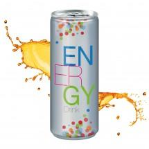Energy Drink, 250 ml, Fullbody transp.