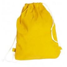 Rucksack / Beutel Boston aus Baumwolle - gelb