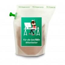 Geschenkartikel: Tee-Brühbeutel für die besTEEn Mitarbeiter, Earl Grey wiederverwendbar