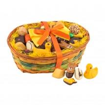 Geschenkartikel: Großer Osterkorb mit Confiseriespezialitäten, 600 g