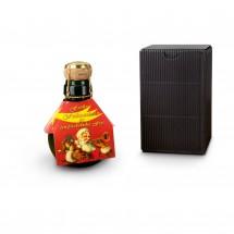 Geschenkartikel: Kleinste Sektflasche: Weihnachtsgruß