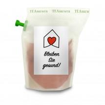 Geschenkartikel: Bleiben Sie Gesund Tee-Brühbeutel Tasty Berry, wiederverwendbar