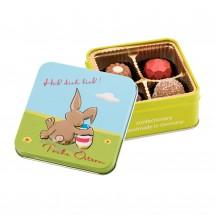 Geschenkartikel: Frohe Ostern - Hab dich lieb - Pralinen 50 g