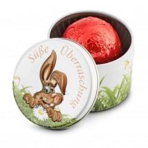 Geschenkartikel: Süße Überraschung - 1er Pralinendose