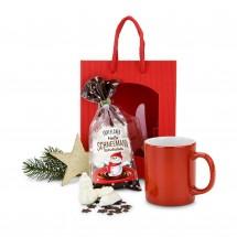 Geschenkset: Heiße Schneemann Schokolade