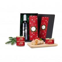 Geschenkset: Weihnachts-Wurst