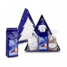 Geschenkset: Tee-Tannenbaum