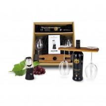 Geschenkset: Rotwein Deluxe