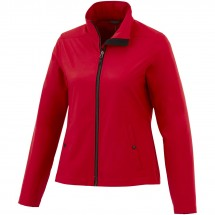 Karmine White Label Softshelljacke für Damen - rot