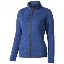 Tremblant Damen Strickfleece Jacke - heather blau