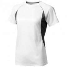 Quebec Damen T Shirt - weiss,anthrazit