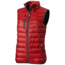 Fairview Damen leichter Daunen Bodywarmer - rot