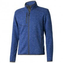 Tremblant Strickfleece Jacke - heather blau