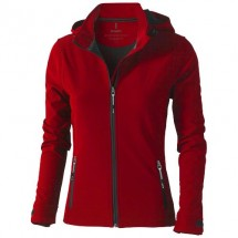 Langley Damen Softshell Jacke - rot