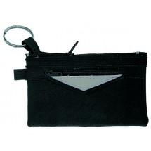 CreativDesign Große Schlüsseltasche PeppKey schwarz - schwarz / silber