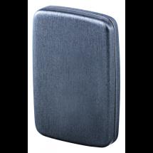 RFID Kartenetui - graumetallic