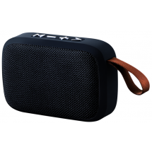 Sign Bluetooth-Speaker mit Radio und SD-Kartenslot - schwarz