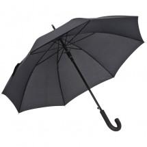 Schirm mit Aluminiumschaft - schwarz