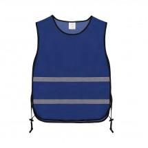Trainingsjacke Polyester - kobalt
