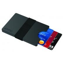 Metmaxx® Kartenhülle IwalletCompact - schwarz