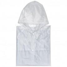 Regenjacke in Standardgröße XL - transparent