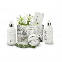 Wellness-Geschenkset: Weiße Lilie