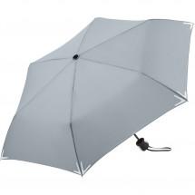 Mini-Taschenschirm Safebrella® - hellgrau