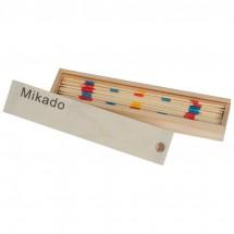 Mikado Spiel aus Holz - beige