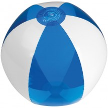 Strandball bicolour - blau