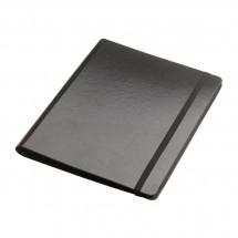 DIN A5 Schreibmappe mit Tablethalterung REFLECTS-KILLEEN BLACK