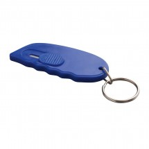 Minicutter mit Schlüsselring REFLECTS-TONGI BLUE