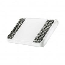 Wireless charging powerbank REFLECTS-MASSAMÁ WHITE 4000 mAh - grau, weiß