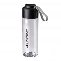 Trinkflasche RETUMBLER-VITROLLES CLEAR - schwarz/transparent