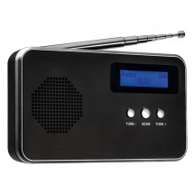 Tragbares Digitalradio FM / DAB+ REFLECTS-BARCELOS BLACK SILVER