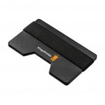 Kartenetui mit RFID Ausleseschutz REFLECTS-LOMITA BLACK - schwarz