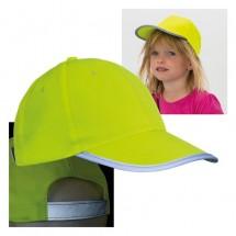 Cap für Kinder - gelb