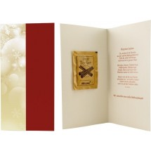 Weihnachtskarte Süße Weihnachtsgrüße, 1-4 c Digitaldruck inklusive, ohne Kuvert