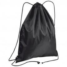 Gym-Bag aus Polyester - schwarz