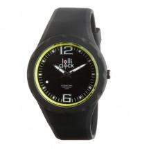 Armbanduhr LOLLICLOCK-FRESH BLACK YELLOW