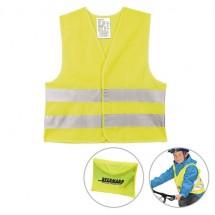Kinder-Sicherheits-Warnweste - gelb