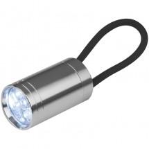 Taschenlampe mit schwarzem Silikon - schwarz