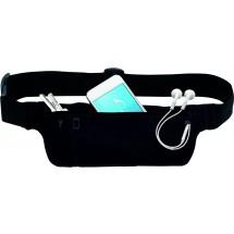 Hüfttasche für Freizeit, Reise und Sport - schwarz