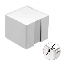 Zettelbox, dickwandig - weiß