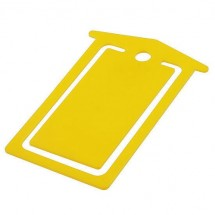 Briefklammer - gelb