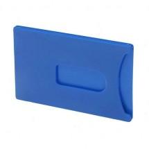 Kreditkarten-Tresor, starr - blau