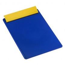 Schreibplatte DIN A4 - blau/gelb