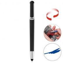 Touchscreen-Drehkugelschreiber - schwarz