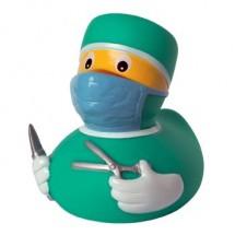 Quietsche-Ente Chirurg - gelb